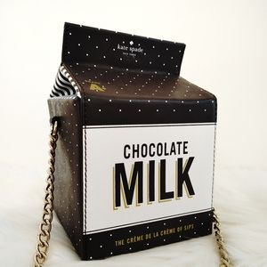 Kate Spade Creme de la Creme Chocolate Milk Purse
